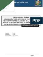 03.00 Especificaciones Tecnicas