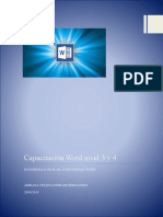 Capacitacion Word 4 y 5 A