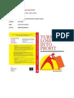 Overview Buku Turning Loss Into Profit