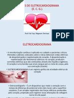 Aula 4- Nocões de Eletrocardiograma
