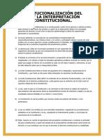 Copia de La Constitucionalización del Derecho y la Interpretación Jurídico Constitucional