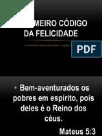 O PRIMEIRO CÓDIGO DA FELICIDADE.pptx