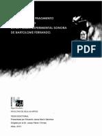Bartolomé Ferrando - La poética del fragmento y del intervalo en la poesía experimental sonora.