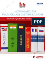 Multilingual CS Report
