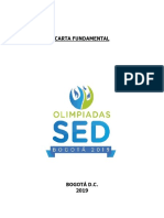 Carta Fundamental Olimpíadas Sed 2019
