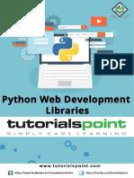 Python Web Development Libraries