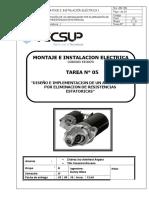 Montaje e instalacion electrica