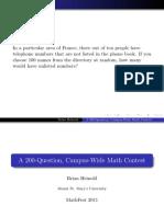 mathfest
