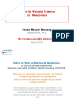 1. Hctor Monzn Despang-Historia Ssmica Guatemala