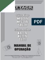 Manual de Operação Attack