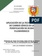Tesis de Acido Fluirhidrico