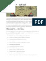 Métodos GEOFISICOS