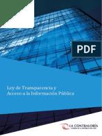 DIAPOSITIVA LEY DE TRANSPARENCIA