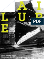 Documents of Contemporary Art - Failure - Edited by Lisa Le Feuvre (2010)