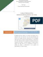 Caracterización de cuenca Lago de Cuitzeo