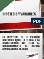 UNIDAD 3.1 HIPOTESIS Y VARIBLES.ppt