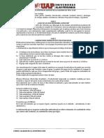 TALLER 03 Sistema de Gestión de La Calidad ISO 9001