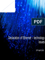 Telstra Briefing on Ethernet Technology Issues- Public Version