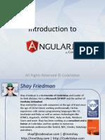 HTML5 and AngularJS