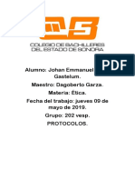 Etica Protocolos Johan 202 V