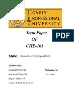 Chemistry of Hydrogen Bomb