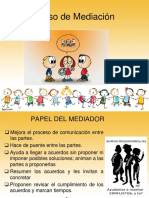 Proceso de Mediacion Escolar 2017
