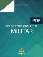 Enviando Apostila CBEPJUR Direito Processual Penal Militar
