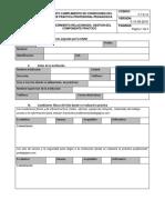 Formato Inspección Condiciones