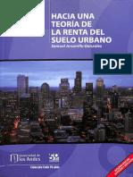 JARAMILLO_hacia Una Teoria Dela Renta Suelo Urbano