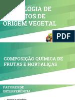 AULA 2 origem vegetal