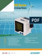 AcuDC 240 DC Power Energy Meter Brochure