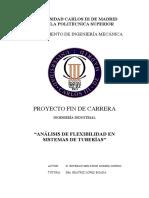 Ejercicio Analisis de flexibilidad en sistemas de tuberias