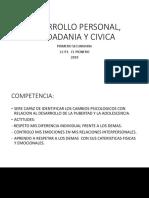 Desarrollo Personal, Ciudadania y Civica