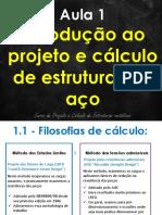 Projeto e Calculo Aco