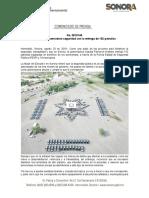 28-08-19 Fortalece Gobernadora seguridad con la entrega de 152 patrullas
