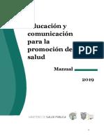120419 Manual de Educación y Comunicación Para La Promoción de La Salud (Versión Final)