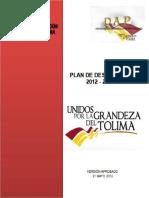 Plan de Desarrollo Tolima 2011