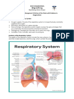 1. Respiratory System Anatomy, Assessment & Diagnostic Tests