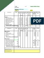 precio unitario de mantenimiento de caminos