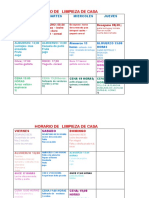 calendario alimentacion saludable