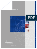 (English) LabWare Brochure ELN