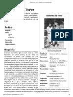 Guillermo de Torre - Wikipedia, La Enciclopedia Libre