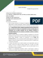 CARTA NOTARIAL TORRE DE ILUMINACION N° 004688