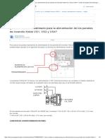 ¿Cómo realizar el cableado para la alimentación de los paneles de incendio Kidde VS1, VS2 y VS4_ – Centro de Ayuda Tecnosinergia - Tecnosinergia S. de R.L. de C.V. All Rights Reserved. © 2017