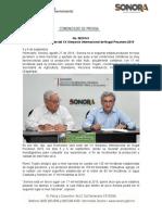 27-08-19 Hermosillo será sede del XX Simposio Internacional de Nogal Pecanero 2019