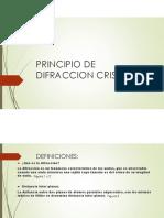 Principio de Difraccion Cristalina