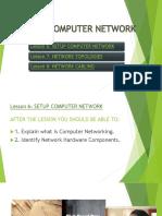 Unit 3 - Setup Computer Network