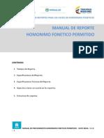 Manual de Procedimiento Homonimos Fonéticos Permitidos_V_1.0