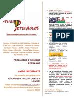 Aires peruanos