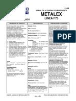 F75 Esmalte Metalex Línea